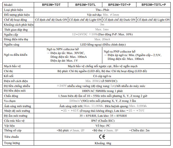 BPS3M-TDTL-P-autonics